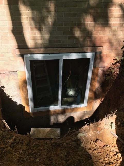 Installations Egress Window 2