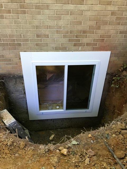 Installations Egress Window 3